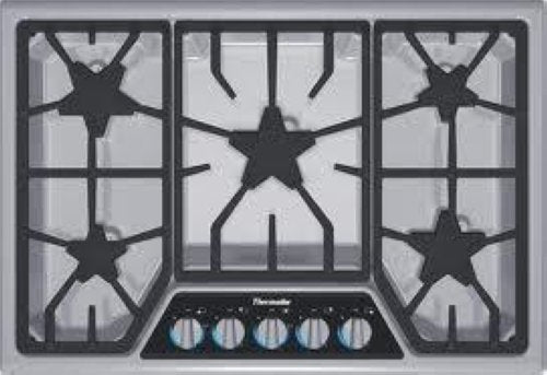 "Thermador 30"" 5 Star Burners Gas Cooktop SGSX305FS Stainless Steel - Alabama Appliance"