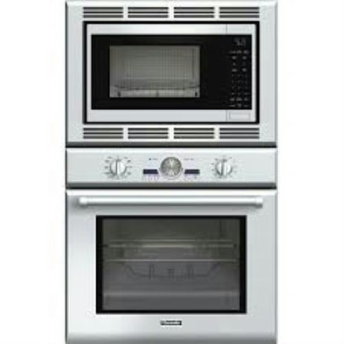 "Thermador 30"" True Convection SoftClose Stainless Combo Wall Oven PODM301J - Alabama Appliance"