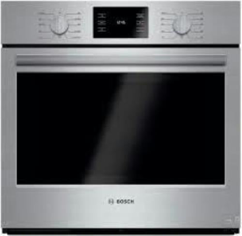 "Bosch 500 30"" 11 Mode 4.6 cu ft European Convection Electric Wall Oven HBL5451UC - Alabama Appliance"