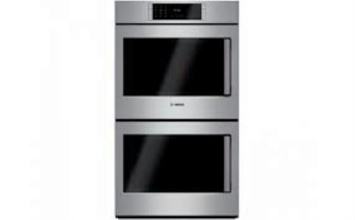 "Bosch Benchmark Series 30"" SS Self-Clean Double Electric Wall Oven HBLP651LUC - Alabama Appliance"