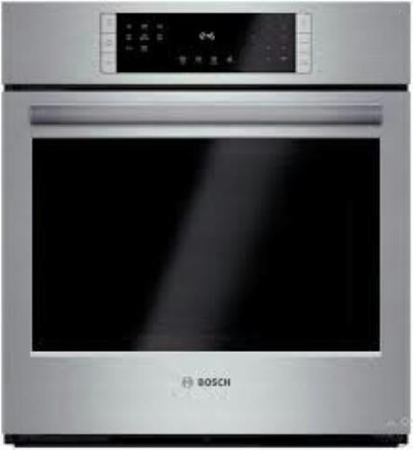 "Bosch 27"" Convection Single Electric Wall Oven HBN8451UC Stainless S. Perfect - Alabama Appliance"