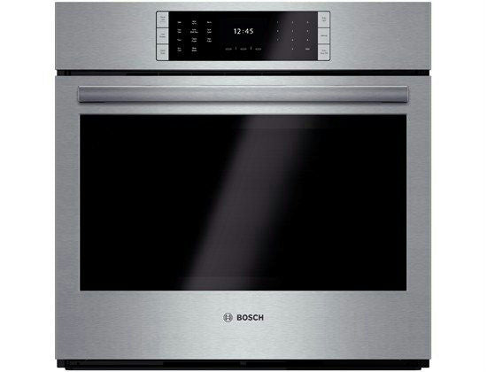 "Bosch Benchmark 30"" 14 Cooking Modes Single SS Electric Wall Oven HBLP451UC - Alabama Appliance"