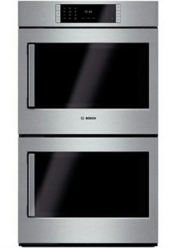 "Bosch Benchmark Series 30"" Convection SS Double Electric Wall Oven HBLP651RUC - Alabama Appliance"