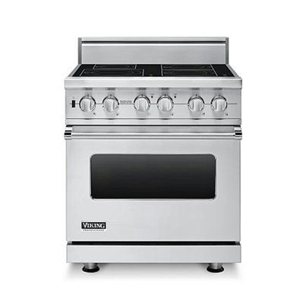 "Viking Professional Series 30"" Stainless Pro-Style Induction Range VISC5304BSS - Alabama Appliance"