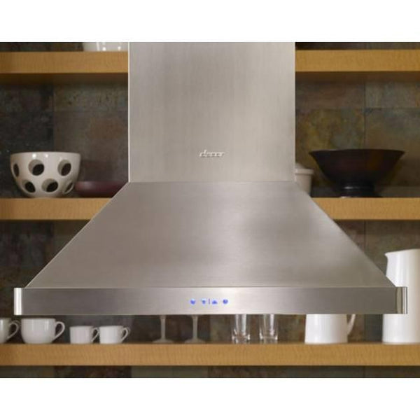 "Dacor Discovery 42"" 1200 CFM Internal Blower Island Mount Range Hood DHI421"