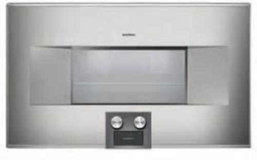 "Gaggenau 400 Series BS464610 30"" 1.5 cu ft Capacity Combi-Steam Oven Stainless S - Alabama Appliance"