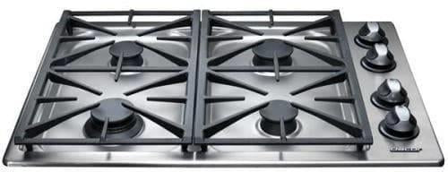 Dacor Renaissance RGC304SNG 30 Inch 4 Sealed Burners Gas Cooktop Stainless - Alabama Appliance