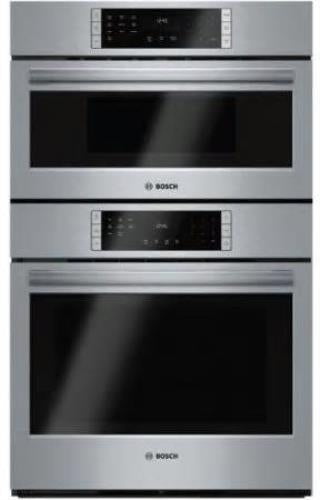 "NIB Bosch 800 Series 30"" 10CookingPrograms Microwave Combination Oven HBL87M52UC - Alabama Appliance"