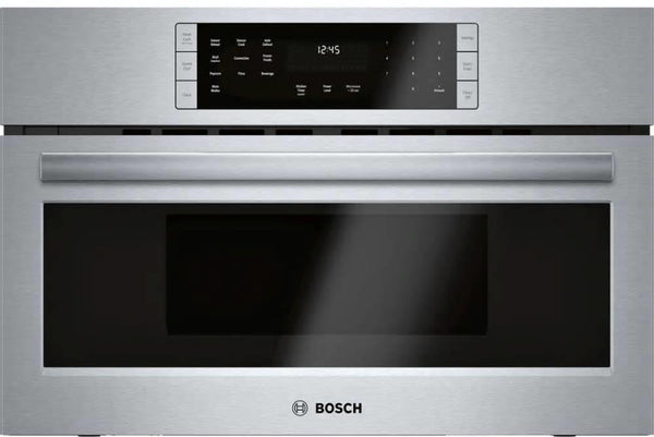"Bosch 800 Series 30"" SS True Convection Sensor Cook Speed Oven HMC80152UC - Alabama Appliance"