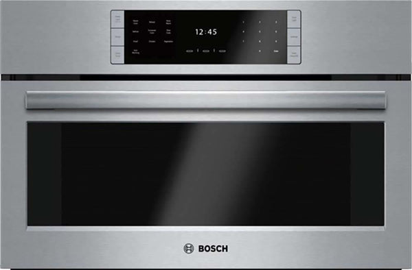 "Bosch Benchmark Series 30"" Non-Plumbed European Convection Steam Oven HSLP451UC - Alabama Appliance"