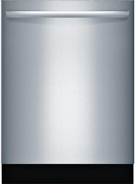 "Bosch 800 Series 24""  44DBa Fully Integrated Dishwasher SGX68U55UC Perfect Front - Alabama Appliance"