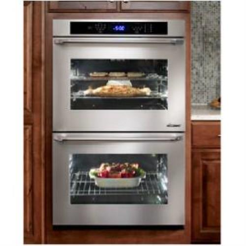 "Dacor Distinctive 30"" 4.8 cu. ft 6 Modes Double Electric SS Wall Oven DTO230S - Alabama Appliance"