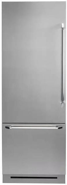 "Dacor Discovery 30"" SS 15.5 cu. ft Fully Integrated Bottom-Freezer DYF30BFBSL - Alabama Appliance"