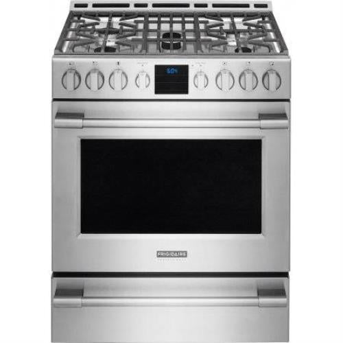"Frigidaire Professional 30"" Stainless Steel Freestanding Gas Range FPGH3077RF - Alabama Appliance"