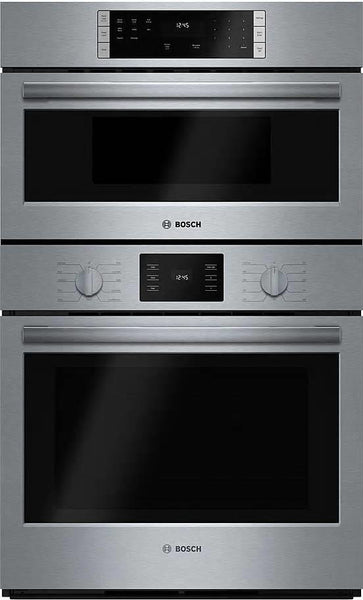 "Bosch 500 Series 30"" SelfClean SS Convection Combination Oven HBL57M52UC - Alabama Appliance"