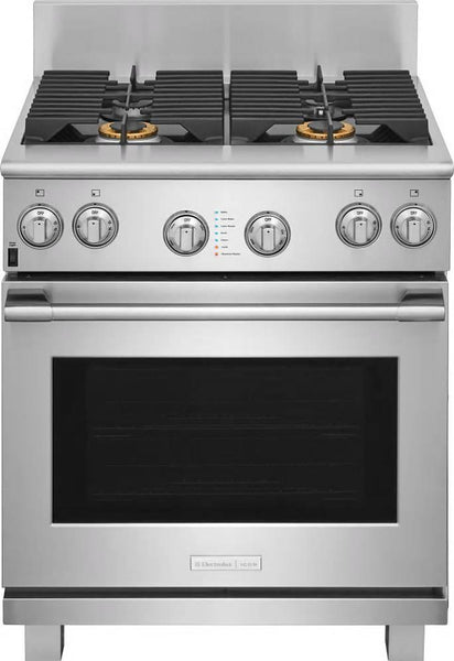 NIB Electrolux Icon 30 Inch CustomConvect Freestanding Gas Range E30GF74TPS - Alabama Appliance