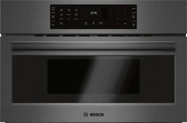 "Bosch 800 Series 30"" True Convection Sensor Cook Speed Oven HMC80242UC Black S. - Alabama Appliance"