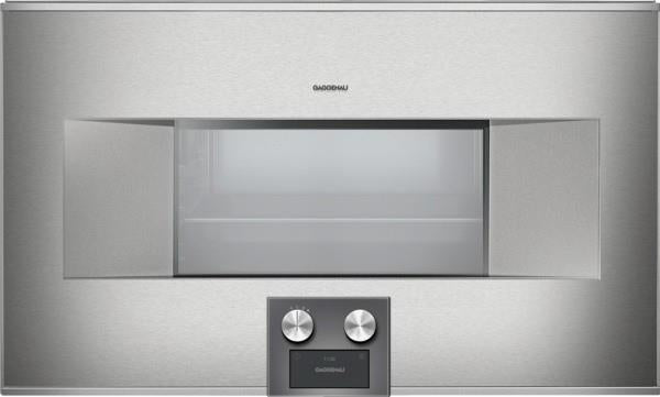 "Gaggenau 400 Series 30"" 1.7 cu. ft. 15 Modes Touch Combi-Steam Oven BS484611 IMG - Alabama Appliance"