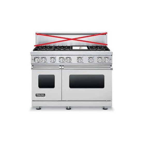 NIB Viking Professional 7 Series 48 Inch ProStyle Gas Range VGR7486GSS - Alabama Appliance