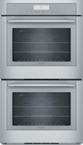 "Thermador Masterpiece Series 30"" Hydraulic SoftClose Double Wall Oven ME302WS IM - Alabama Appliance"