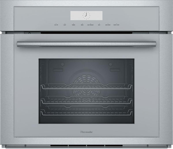 Thermador 30'' Wall Oven with Steam, Convection, SoftClose Door MEDS301WS IMAGE - Alabama Appliance