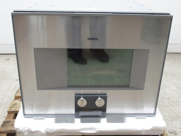 "Gaggenau 400 Series 24"" Self-Clean Combi-Steam Convection Oven BS474611 - Alabama Appliance"