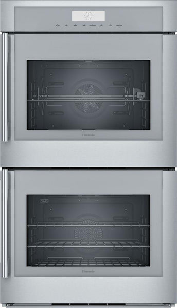 Thermador MED302RWS 30 Inch Double Wall Oven 16 Cooking Modes Self-Clean Images - Alabama Appliance