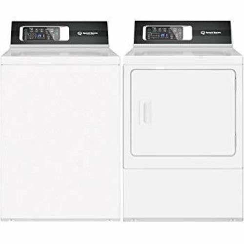 Speed Queen Side by Side Top/Front Load Washer & Dryer Set TR7000WN / DR7000WE - Alabama Appliance