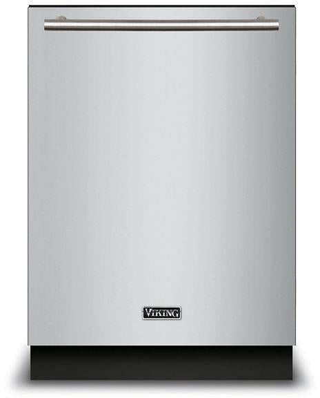 "Viking 24"" LCD Control Panel Quiet Clean Stainless Dishwasher VDWU524SS - Alabama Appliance"