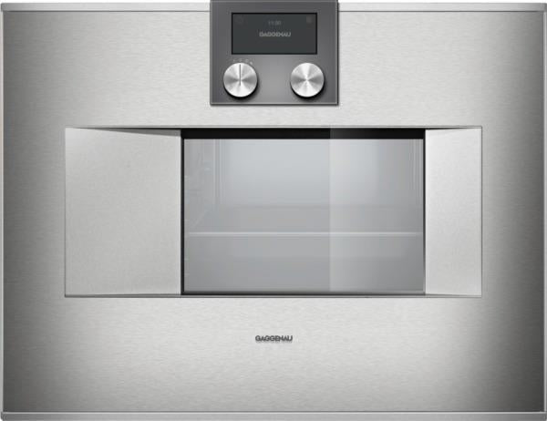 GAGGENAU 400 Series 24 Inch 1.7 cu. ft. Convection Combi-Steam Oven BS470611 - Alabama Appliance