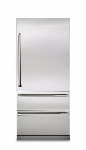 "Viking Professional 7 Series VBI7360WRSS 36"" Built-In Bottom Mount Refrigerator - Alabama Appliance"