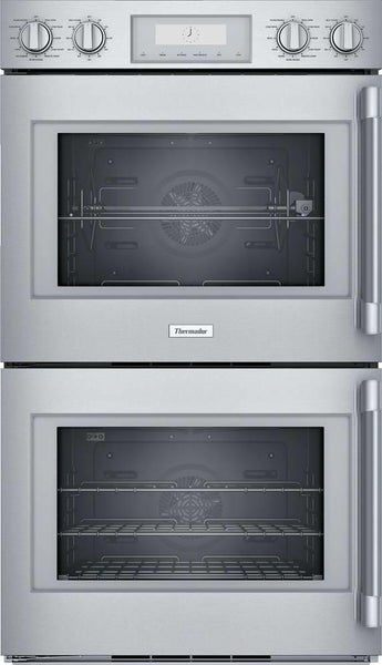 "Thermador Professional Series 30"" 16 Modes Modes Double Wall Oven POD302LW - Alabama Appliance"