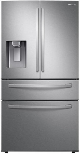 "Samsung 36"" 4 Door Refrigerator with 28 Cu.Ft. Stainless Steel"
