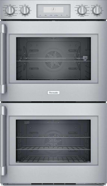 "Thermador Professional Series 30"" Stainless 16 Modes Double Wall Oven POD302RW"