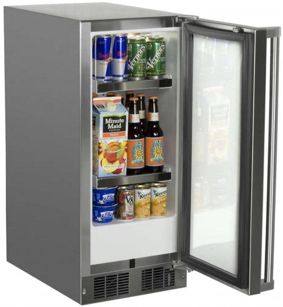 Marvel 15 Inch Built-in Outdoor Refrigerator MO15RAS2RS  with 2.9 cu ft Capacity - Alabama Appliance