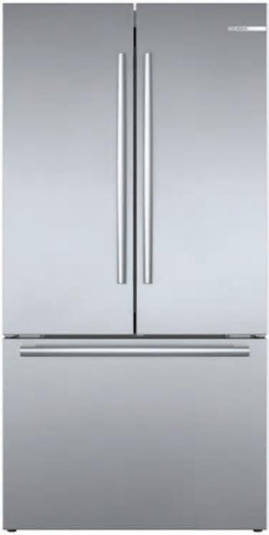 BOSCH 36'' Smart Counter Depth French Door Refrigerator Wi-Fi B36CT80SNS Perfect - Alabama Appliance