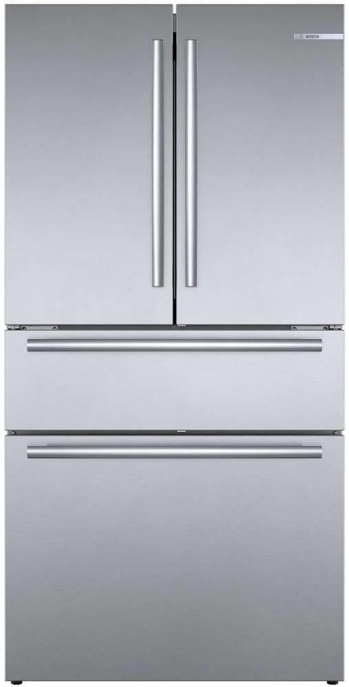 "Bosch 800 Series 36"" Counter Depth French Door Refrigerator B36CL80SNS Perfect - Alabama Appliance"