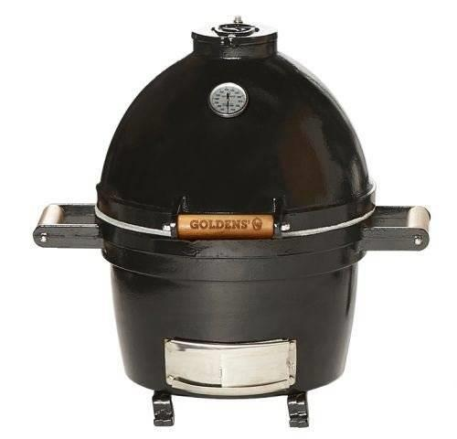 NIB Golden Cast Iron 14-Inch A Single-Piece Charcoal Firebox Mini-Cooker 13607 - Alabama Appliance
