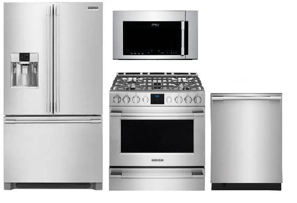 NIB Frigidaire Professional Kitchen: Refrigerator Microwave & Dishwasher & Range - Alabama Appliance