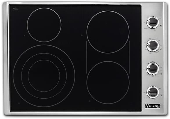 "viking 30"" Cooktop with QuickCookSurface Elements VECU53014BSB Images - Alabama Appliance"