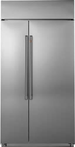 "NIB GE Profile CSB42WP2NS1 42"" Built-In Side-by-Side Refrigerator"