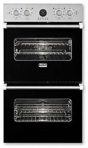 Viking Professional Premiere Series 27 Inch Double Electric Wall Oven VEDO5272BK - Alabama Appliance