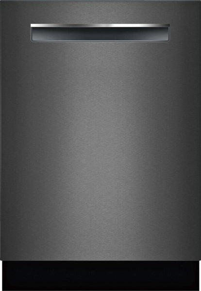 "Bosch 800 Series 24"" 42DB Black Stainless Fully Integrated Dishwasher SHPM78Z54N"