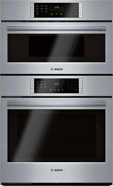 Bosch 800 Series 30 Inch Home Connect Smart Combination Speed Oven HBL8753UC