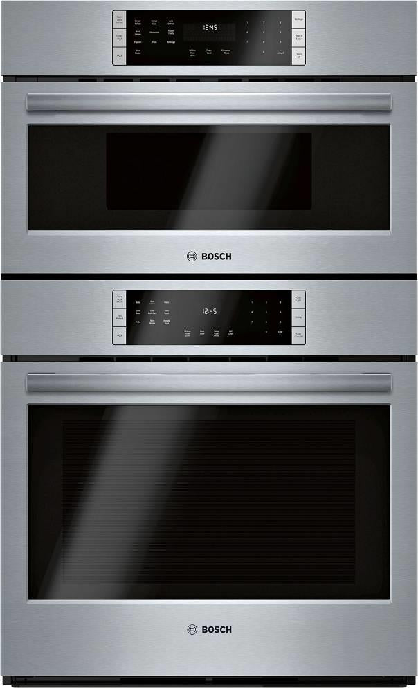 Bosch 800 Series 30 Inch Home Connect Smart Combination Speed Oven HBL8753UC - Alabama Appliance