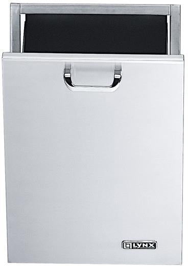 LYNX L18TC 18 Inches Outdoor Trash Center with Bottom Hinged Pull-Out Door - Alabama Appliance