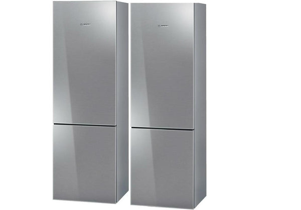 Bosch 800 Counter-Depth Stainless Refrigerators: Set of 2 24 in units B10CB80NVS - Alabama Appliance