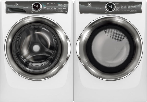 "Electrolux 27""  Front Load Washer & Dryer set EFLS627UIW / EFME527UIW"