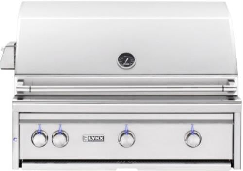 "Lynx Professional Grill Series 36"" 935 sq. in. Surface Built-In Grill L36TRNG - Alabama Appliance"