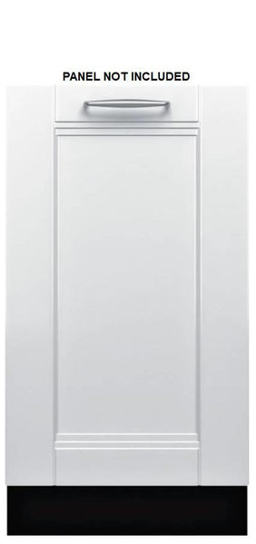 "Bosch 800 Series 18"" InfoLight 44 dbA AquaStop integrated Dishwasher SPV68U53UC - Alabama Appliance"